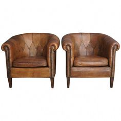 Bed Linen Cleaning Service Key: can find Club chairs and more on our website. Plywood Furniture, Leather Furniture, Rustic Furniture, Classic Furniture, Small Leather Chairs, Leather Club Chairs, Folding Chair Makeover, Chairs For Small Spaces, Metal Dining Chairs