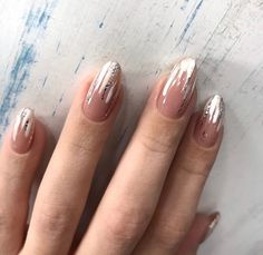 Love nails, almond nail art, almond shape nails, acrylic nails for summer. Love Nails, Fun Nails, Style Nails, Abstract Nail Art, Almond Shape Nails, Nails Shape, Manicure E Pedicure, Super Nails, Nagel Gel