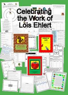 Lois Ehlert Author Study For Guided Reading Groups