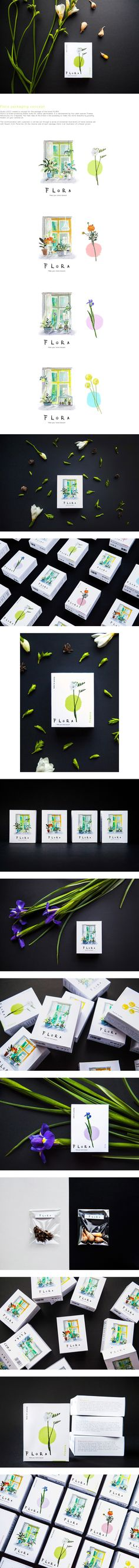 Flora packaging concept