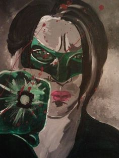 Blackest Night by PaintingsThatPop on Etsy, $150.00