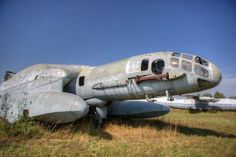 Abandoned Soviet Aircraft BBA 14 Airplane