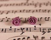 Handmade vintage rose earrings: www.etsy.com/shop/rachaelp03