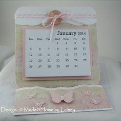 Made @ Home: Easel Calendar 1 & 2