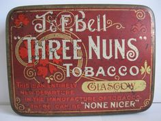 """THREE NUNS"" Tobacco tin"