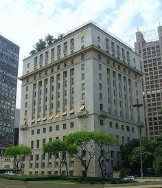O Edifício Matarazzo, sede da Prefeitura de São Paulo, no centro da cidade.