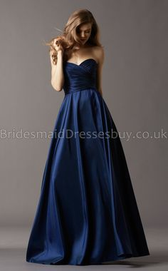 Navy Blue Long Bridesmaid Dresses,Blue Bridesmaid Dresses