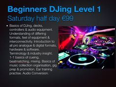 NEW: Beginner-Intermediate-Advanced DJ Workshops running monthly in small groups on multiformats... Learn more @ ViRTU:Media Creative Studios-College Dublin 1 :) www.virtustudios.ie      #education #college #DJ #engineer #music #producer #love #recording #like #Creative #media #proaudio #ableton #geek #mix #remix #sound #tech #synth #follow #gadget #information #studio #tech #Ireland #technology #sound @Ableton Produccions