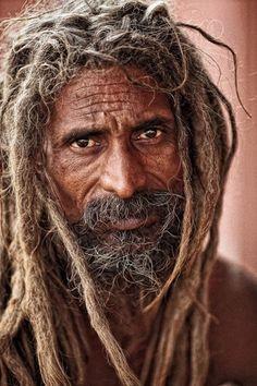 ♂ old man portrait Sadhu in Pushkar In Hinduism Photograph by Mikhail Panfilov