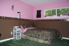 teen girl bedroom camo on pinterest