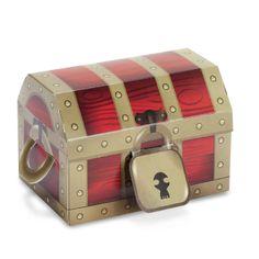 Amazon.com : Treasure Box Empty Favor Boxes Party Accessory : Childrens Party Favor Sets : Toys & Games