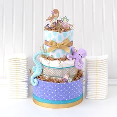 Cake with carrot and ham - Clean Eating Snacks Mermaid Baby Shower Decorations, Mermaid Baby Showers, Baby Mermaid, Baby Shower Themes, Shower Ideas, Unique Baby Girl Gifts, Baby Gifts, Diaper Cake Boy, Diaper Cakes