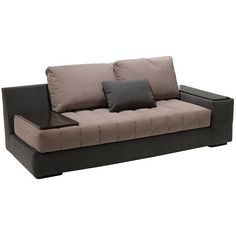 Black And Brown Trendy Sofa Design Www.ataglancedecor.com