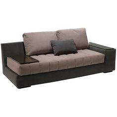 Black And Brown Trendy Sofa Design Www.ataglancedecor.com