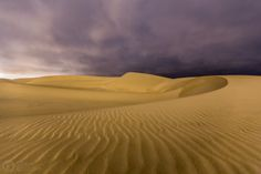 Oceano Dunes At Night by Cabe Creative on 500px