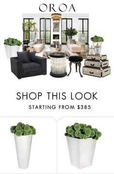 """""""luxury brand"""" by snowmoon ❤ liked on Polyvore featuring interior, interiors, interior design, home, home decor, interior decorating and Eichholtz"""
