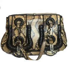 New in  Fendi Snakeskin H... lovely selection of beautiful products to buy here: http://timpanys.com/products/fendi-snakeskin-handbag?utm_campaign=social_autopilot&utm_source=pin&utm_medium=pin