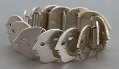 Bracelet | Los Castillo.  Sterling Silver. circa 1950