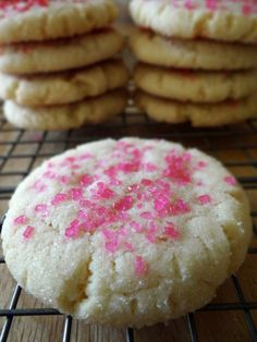 Just made these for the girls I'm watching and Dom. Seriously, THE best sugar cookies I've ever made. I rolled them in a sugar-rainbow sprinkle mix rather than just sugar. I also rolled them in 1Tbsp balls rather than 2 and cut the recipe in half and they still turned out huge and fluffy and chewy! I DEFINITELY recommend this recipe!