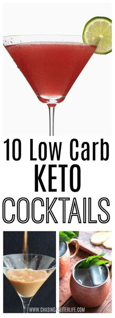 10 Low Crab Keto Cocktails