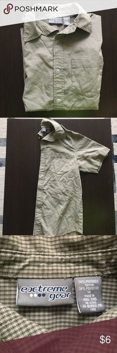 Boys (M) Short Sleeve Button Down GREAT condition, no rips or stains, smoke free household! extreme gear Shirts & Tops Button Down Shirts