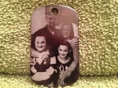 MDN Laser Engraving, Inc.: Family Photo - Custom Design Laser Engraved On Black Anodized Dog Tag: MDN Laser Engraving, Inc. http://mdnlaserengraving.blogspot.com/2013/09/family-photo-custom-design-laser.html