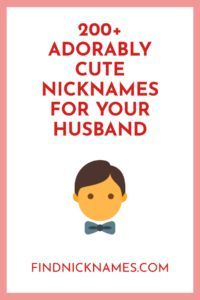 Do you need a cute and super nickname for your husband? In this article, we share a list of cute, funny, sexy and zany nicknames for husbands. Nicknames For Your Boyfriend, Contact Names For Boyfriend, Nicknames For Girlfriends, Love Nicknames, Funny Nicknames, Boyfriends, Terms Of Endearment, Funny Contact Names, Amor