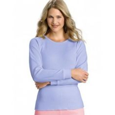 Hanes X-Temp #Thermal Crew Shirt. Get cool and dry comfortable cotton-rich, waffle-knit #fabric.