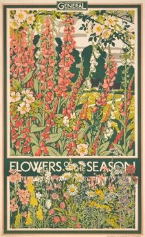 Flowers of the season - Walter E Spradbery (1933)