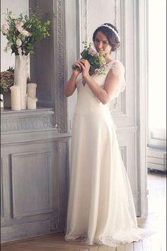 Robe de mariée Marie Laporte modèle Faustine
