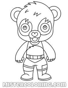 Free Marshmello Chibi Skin Fortnite Coloring Page For Kids