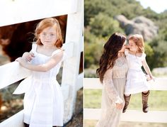 Beautiful little redhead. Gorgeous photography of the whole family!