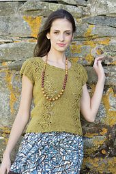 Ravelry: Sprout Tee with Lace pattern by Kristen TenDyke