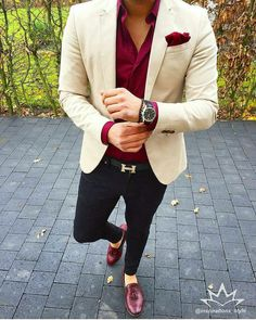 2019 Befitting and Classy Men Suit Fashion - Excelloaded Blazer Outfits Men, Mens Fashion Blazer, Stylish Mens Outfits, Suit Fashion, Blue Blazer Outfit, Casual Outfits, Boy Fashion, Men Blazer, Casual Blazer