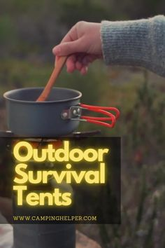 Spending an unplanned night out in the middle of the wilderness can be a vulnerable moment. Especially if you aren't prepared and have no shelter.  #camping#outdoortents#tents Couples Camping, Best Tents For Camping, Cool Tents, Survival Tent, Survival Shelter, Outdoor Survival, Camping For Beginners, Shelter Tent, Winter Camping