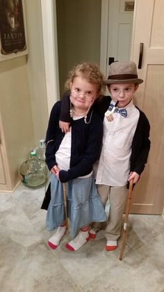 100th day of school,  costume, dress up, grandma and grandpa