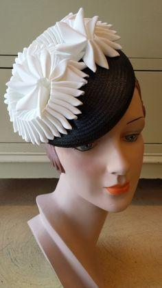 Cockade Hat by VICTORIA HENDERSON #millinery #HatAcademy #hats