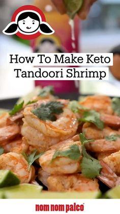 Healthy Low Carb Recipes, Dairy Free Recipes, Paleo Recipes, Cooking Recipes, Gluten Free, Shrimp Dishes, Shrimp Recipes, Tandoori Shrimp, Scd Diet