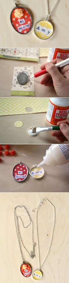 DIY Ransom Necklace Mothers Day Gift