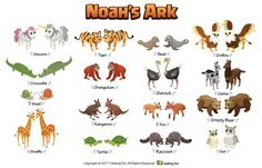 some the animal pairs created for making fun noah ark 585080 coloring pages for free 2015