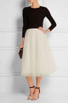 El regreso de la falda de tul: fotos de los modelos - Elizabeth and James falda tul