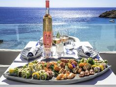 Fay by Cotton Beach Club Ibiza: sushi with a view