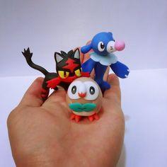 Pokemon Sun Pokemon Moon Rowlet Litten Popplio  by tatanRG.deviantart.com on @DeviantArt