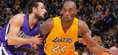 Kobe Bryant - Los Angeles Lakers - Sacramento Kings - Chicago Bulls - Houston Rockets