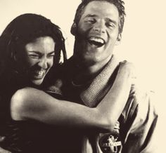 lovesherbeyondhope: anarchist-dog-owner: top five favorite co-stars Best Sci Fi Shows, Tv Shows, Ben Browder, Claudia Black, Michael Shanks, Sci Fi Series, The Thing Is, Stargate, Funny Stuff
