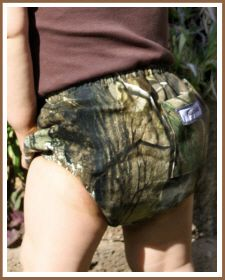 Christian Clothing; Baby Boy Diaper Cover 'Camo'