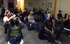 Virtual Reality Reporter is a news website that reports on the topics of VR, AR, 360 and immersive technology!   https://virtualrealityreporter.com/  https://www.facebook.com/vrreporter  https://twitter.com/vrreporter