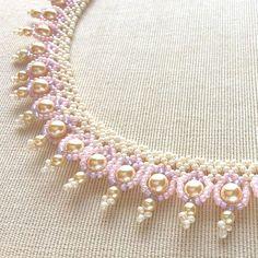 w1206/ペールトーンのパールビーズチョーカー  #カザリ咲色 #ビーズ #ビーズワーク #ビーズステッチ #ビーズチョーカー #ビジュー #ハンドメイド #手作り #手芸 #ネックレス #ハンドメイドアクセサリー #コスチュームジュエリー #bead #beads #beading #beadedflower #beadwork #bijoux #beaded #beadedjewelry #handmade #handcrafted #accessories #handmadejewelry #choker #instajewelry #instagood @kazari_sakuiro