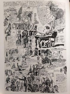 Blutch's sketchbook