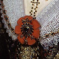 Anne- Lady Carleton by Michiel Jansz van Mierevelt (also Miereveld or Miereveldt) (Dutch, 1566–1641)